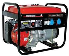 Picture of GENERATOR KUMATSUGEN GΒ 6500Μ ΜΕ ΑVR, STAKE AND BATTERY  - 7,5KVA