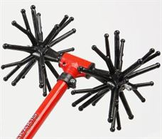 "Picture of Electrical MINOS SIK ""T"" MSR 32 urchin type head with sticks fork shaped alternating with sticks vertical shape"