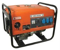 Εικόνα της Γεννήτρια βενζίνης KRAFT KG 6500E - 5.0 kVA με μίζα και μπαταρία