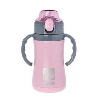 Picture of Ανοξείδωτο παιδικό παγουρακι - θερμός ECOlife Pink 300ml