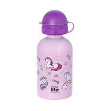 Picture of Ανοξείδωτο παιδικό μπουκάλι ECOlife Unicorn 400ml