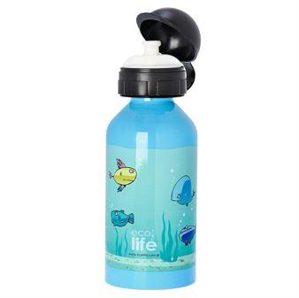 Picture of Ανοξείδωτο παιδικό μπουκάλι ECOlife Fish 500ml