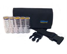 Εικόνα της Eurocash PW 5 PLT - Επαγγελματικό τσαντάκι μέσης και πλαστική κερματοθήκη εισπράκτορα 5 θέσεων