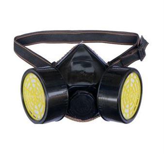 Εικόνα της Μάσκα χημικών INDUSTRIAL με 2 φίλτρα ενεργού άνθρακα