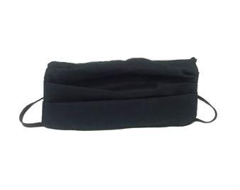Picture of Μάσκα προστασίας πολλαπλών χρήσεων με διπλό ύφασμα, MASKup μαύρο - 100% βαμβάκι