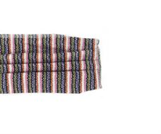 Picture of Μάσκα προστασίας πολλαπλών χρήσεων με διπλό ύφασμα, MASKup Pink Stripes - 100% βαμβάκι