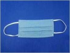 Picture of Παιδική μάσκα προστασίας πολλαπλών χρήσεων με διπλό ύφασμα, MASKup SkyBlue - 100% βαμβάκι