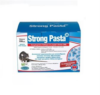 Picture of Ποντικοφάρμακο PROTECTA Strong Pasta 25 - 150g)